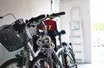 Praktischer und efektvoller Fahrrad ist in der Metropole besonders nutzbringend